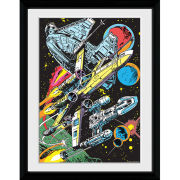 Star Wars Battle - 30x40 Collector Prints