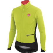 Castelli Alpha Jacket - Lime/Black