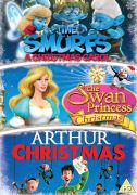 Arthur Christmas/Smurfs Christmas Carol/Swan Princess Christmas