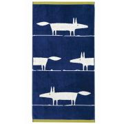 Scion Mr Fox Towel - Blue