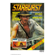 Indiana Jones Starburst Fine Art Print