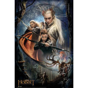 The Hobbit Desolation of Smaug Bows - Maxi Poster - 61 x 91.5cm