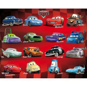 Cars Compilation - Mini Poster - 40 x 50cm