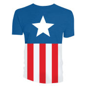 Captain America Uniform Costume T-Shirt - Multi