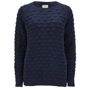 ba&sh Women's Ballote Bobble Knit Jumper - Marine