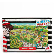 Where's Wally - Safari Jigsaw Puzzle (100 Pieces)