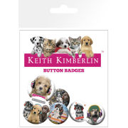 Keith Kimberlin Puppies Headphones - Badge Pack