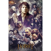 The Hobbit Desolation of Smaug Collage - Maxi Poster - 61 x 91.5cm