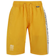 Crosshatch Men's Oplents Swim Shorts - Yellow