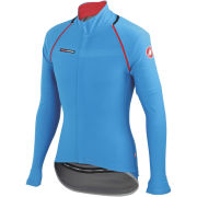 Castelli Gabba 2 Convertible Jacket - Drive Blue