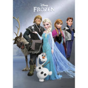 Disney Frozen Group - Metallic Poster - 29 x 42cm