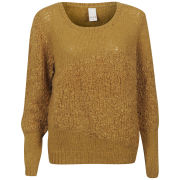 VILA Women's Purify Knitted Top - Mustard