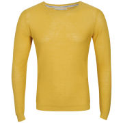 Jack & Jones Men's Bright O-Neck Knit - York Yellow