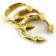 Made Mwezi Rings - Gold