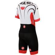 Castelli Sanremo 3.0 Speed Suit - White/Red/Black