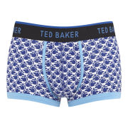 Ted Baker Men's Monkey Print Moulded Boxers - Blue
