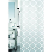 Spirella Ando White Shower Curtain