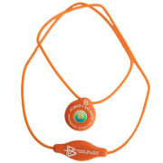 Power Balance -The Original Performance Pendant   Orange With White Lettering