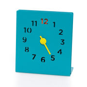 Block Desk Clock - Blue