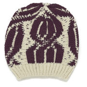 ba&sh Knitted Hat - Red/White