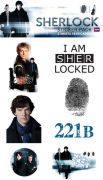 Sherlock Mix - Sticker Pack