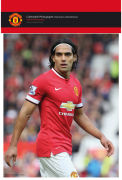 Manchester United Falcao Action - 10x8 Bagged Photographic
