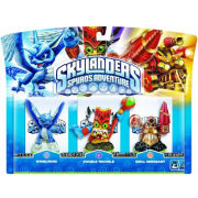 Skylanders: Spyro's Adventure - Triple Character Pack (Double Trouble, Whirlwind And Drill Sergeant)
