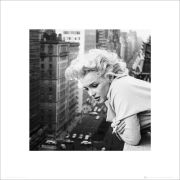 Marilyn Monroe Balcony - 40 x 40cm Print