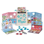 Les Jouets Libres Memo Memory and Puzzle Game