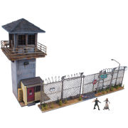 The Walking Dead Prison Tower and Gate Construction Set
