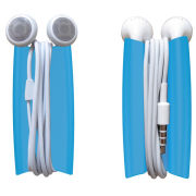 Quirky Wrapster Headphone Cord Organizer (Blue)