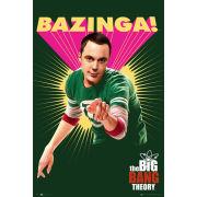 The Big Bang Theory Bazinga - Maxi Poster - 61 x 91.5cm