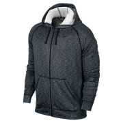 Nike Men's Dri Fit Full Zip Hoody - Black