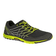Merrell Men's Bare Access Trail Running Shoes - Black/Lime