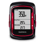 Garmin Edge 500 GPS/HRM/CAD Cycle Computer - Red/Black