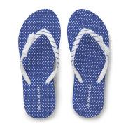 Dunlop Women's Flip Flops - Blue