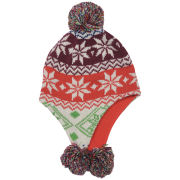 Hunter Kids' Fair Isle Peruvian Hat - Multi