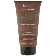 A'kin Pureman Energising All-In-One Hair + Body Wash (150ml)