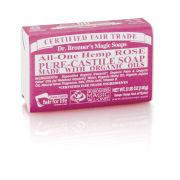 Dr. Bronner Organic Rose Castile Liquid Soap (473ml)