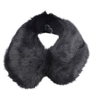 Ted Baker Women's Flufty Faux Fur Collar - Black