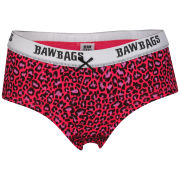 Bawbags Women's Leopard Short Cut Brief
