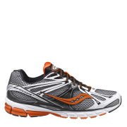 Saucony Men's Guide 6 Running Shoe - White/Black/Orange