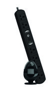 Smart Sensor Energy Egg and Power Strip - Black