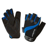 SealSkinz Fingerless Summer Cycle Gloves - Black/Blue
