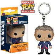 Doctor Who 12th Doctor Pocket Pop! Sleutelhanger