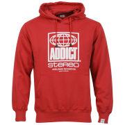 Addict Men's Worldwide Hoody - Red