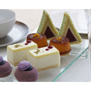 Botanical Champagne Afternoon Tea for Two on Park Lane