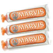 Marvis Ginger Mint Toothpaste Triple Pack (3 x 75ml)