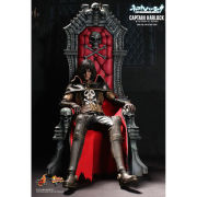 Hot Toys Captain Harlock With Throne 1:6 Scale Figure