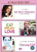 Eat Pray Love / Notting Hill / My Best Friend's Wedding